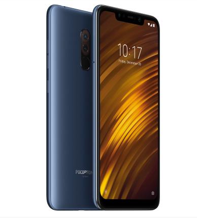 """Xiaomi Pocophone F1 15.7 cm (6.18"""") 6 GB 128 GB Hybrid Dual SIM Blue 4000 mAh"""