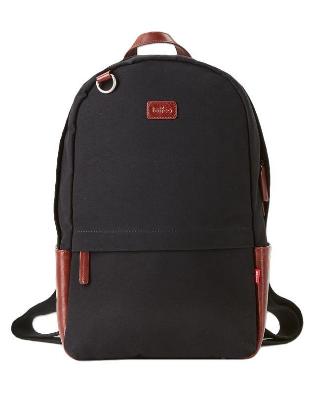 """Toffee Berlin Backpack for 13"""" Messenger Shoulder Bags Black"""