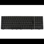 HP Keyboard Silver (UK)