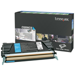 Lexmark C5200CS Toner cyan, 1.5K pages @ 5% coverage