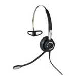 Jabra BIZ 2400 II USB Mono BT MS Monaural Head-band Black, Silver