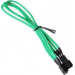 BitFenix BFA-MSC-3F60GK-RP cable interface/gender adapter 3-pin Black,Green
