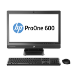 "HP ProOne 600 G1 3.5GHz i3-4150 21.5"" 1920 x 1080pixels Silver All-in-One PC"