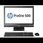 "HP ProOne 600 G1 3.5GHz i3-4150 21.5"" 1920 x 1080Pixels Zilver Alles-in-één-pc"