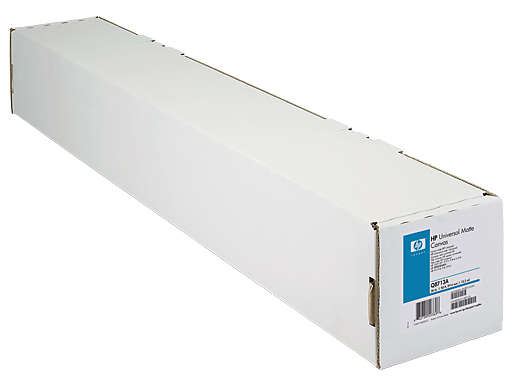 "HP Canvas Textured 24"" x 100ft. White photo paper"