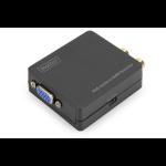 Digitus VGA to HDMI Converter incl. audio transmission