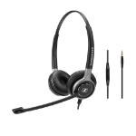 Sennheiser SC 665 Binaural Head-band Black, Grey headset