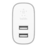 Belkin F7U049DQSLV mobile device charger Indoor White
