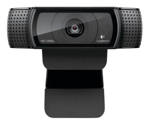 Logitech C920 webcam 15 MP 1920 x 1080 pixels USB 2.0 Black