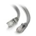C2G Cable de conexión de red Cat6 UTP LSZH 0.5 m - Gris