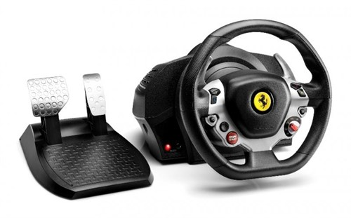 Thrustmaster TX Racing Wheel Ferrari 458 Italia Ed. Steering wheel + Pedals PC, Xbox One Black