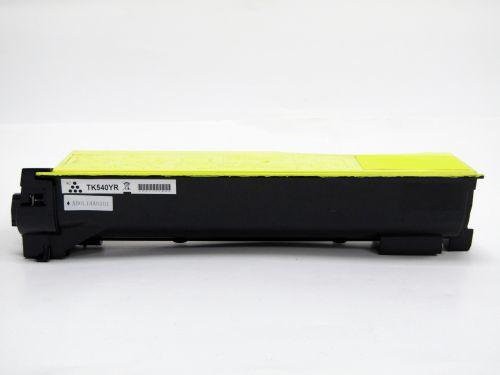 Remanufactured Kyocera TK540Y Yellow Toner Cartridge