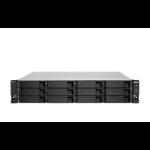 QNAP TS-h1886XU-RP NAS Rack (2U) Ethernet LAN Black, Grey D-1622