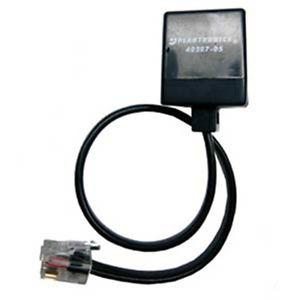 Plantronics 85638-01 Black telephony cable