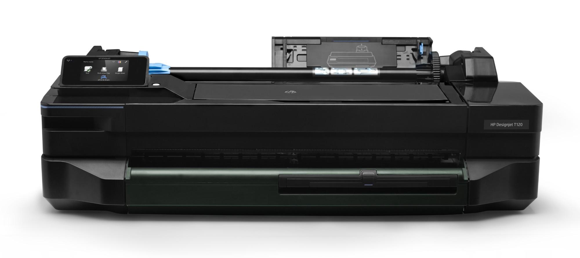 HP Designjet T120 large format printer Colour 1200 x 1200 DPI Thermal inkjet 610 x 1897 mm Wi-Fi