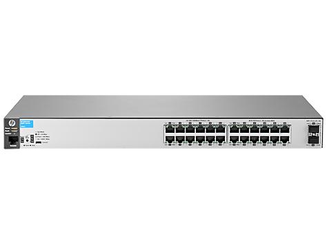 Hewlett Packard Enterprise Aruba 2530 24G 2SFP+ Managed L2 Gigabit Ethernet (10/100/1000) 1U Grey