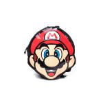 Nintendo Super Mario Bros. Mario Face Shaped Backpack, Red (BP140171NTN)