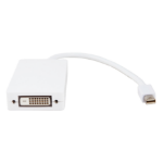Urban Factory CBB41UF video cable adapter Mini DisplayPort DisplayPort + DVI + HDMI White