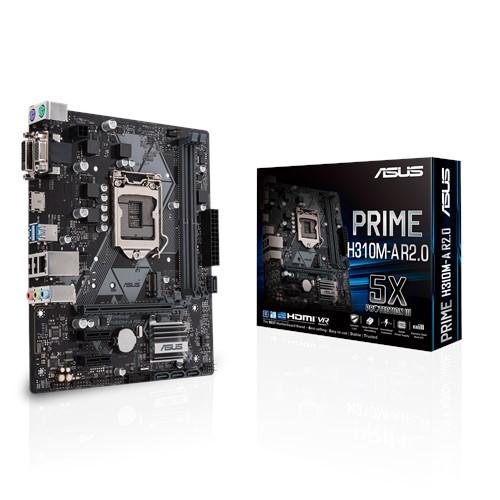ASUS PRIME H310M-A R2.0 motherboard LGA 1151 (Socket H4) Micro ATX Intel® H310