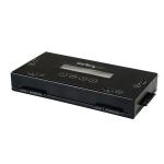 StarTech.com SATERASER4 disk drive eraser Black
