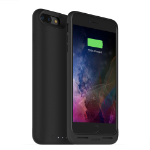 """Mophie Juice pack air mobile phone case 14 cm (5.5"""") Shell case Black"""