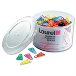 Laurel PAPERCLIPS PLASTIC 60MM PK75       PPC60