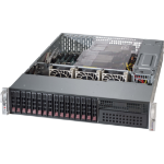 Supermicro 213AC-R920LPB Rack Black 920 W