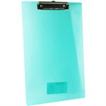Rapesco Frosted Transparent Clipboard clipboard