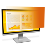 """3M Gold Privacy Filter for 23"""" Widescreen Monitor"""