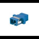 Intellinet 760607 fibre optic adapter SC/SC 1 pc(s) Blue