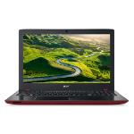 """Acer Aspire E5-575-379X 2.3GHz i3-6100U 15.6"""" 1366 x 768Pixeles Negro, Rojo Portátil"""