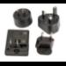 Intermec 213-029-001 adaptador de enchufe eléctrico Negro