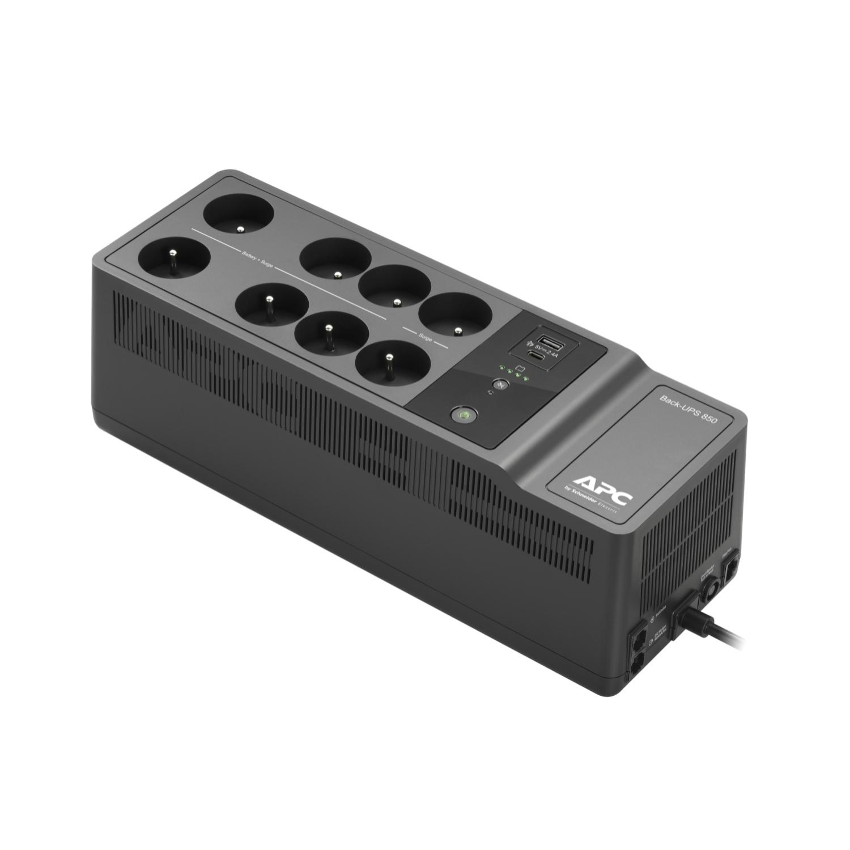 APC BE850G2-FR sistema de alimentación ininterrumpida (UPS) En espera (Fuera de línea) o Standby (Offline) 850 VA 520 W