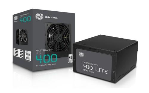 Cooler Master MasterWatt Lite power supply unit 400 W 20+4 pin ATX ATX Black