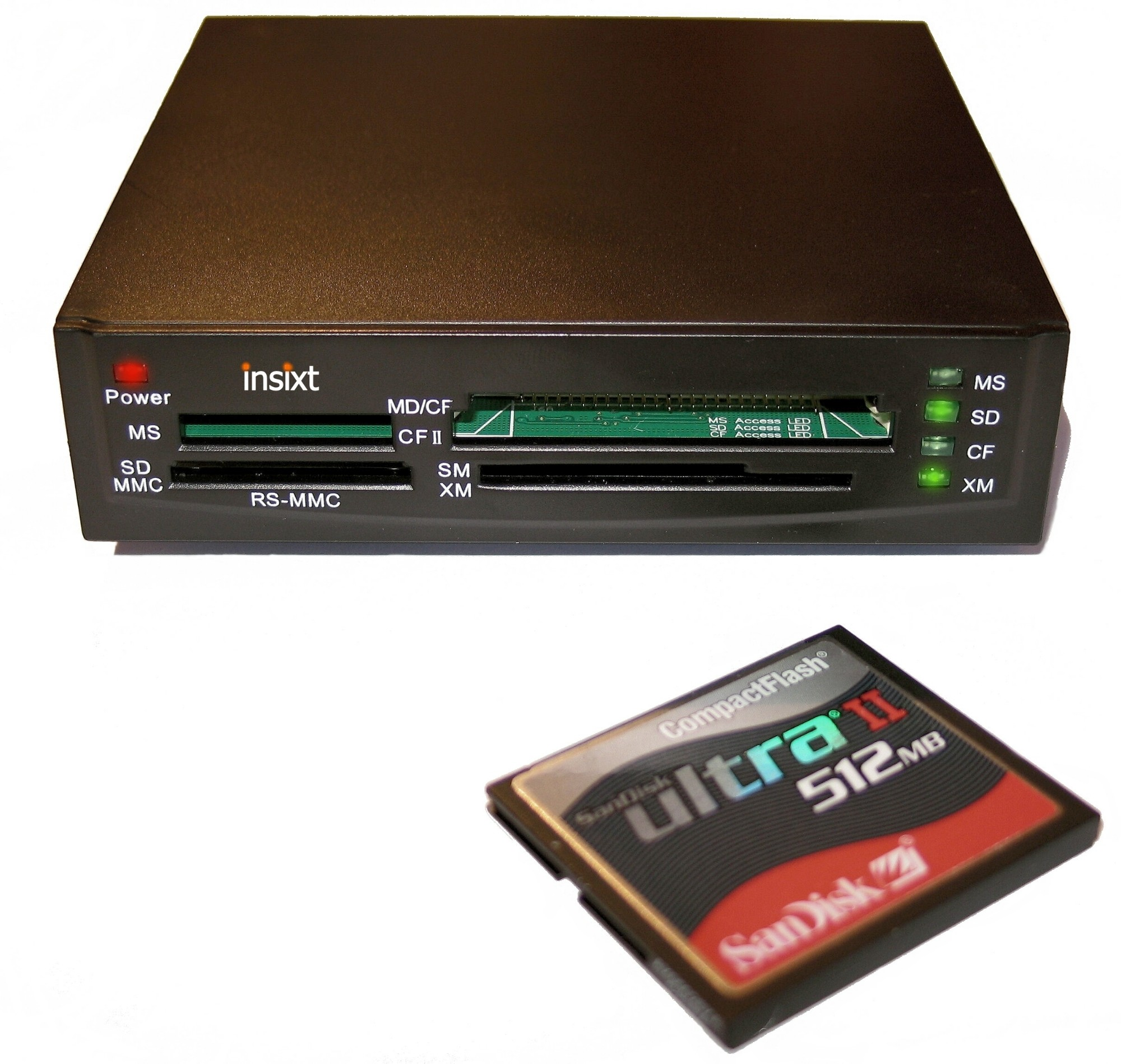 Dynamode High speed USB2.0 52-in-1 Card Reader USB 2.0 card reader