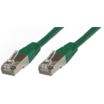 Microconnect B-SFTP60025G 0.25m Cat6 S/FTP (S-STP) Green networking cable