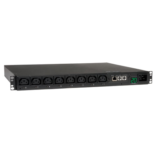 Switched Metered Pdu With Remote Monitoring  208/230/240v 20a C13 8 Outlet 1u