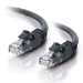 C2G 7m Cat6 Patch Cable cable de red U/UTP (UTP) Negro