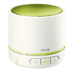 Leitz 63581064 portable speaker 3 W Mono portable speaker Green,Metallic
