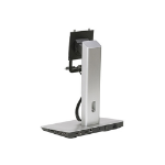 DELL 452-BBKD Black,Silver flat panel desk mount