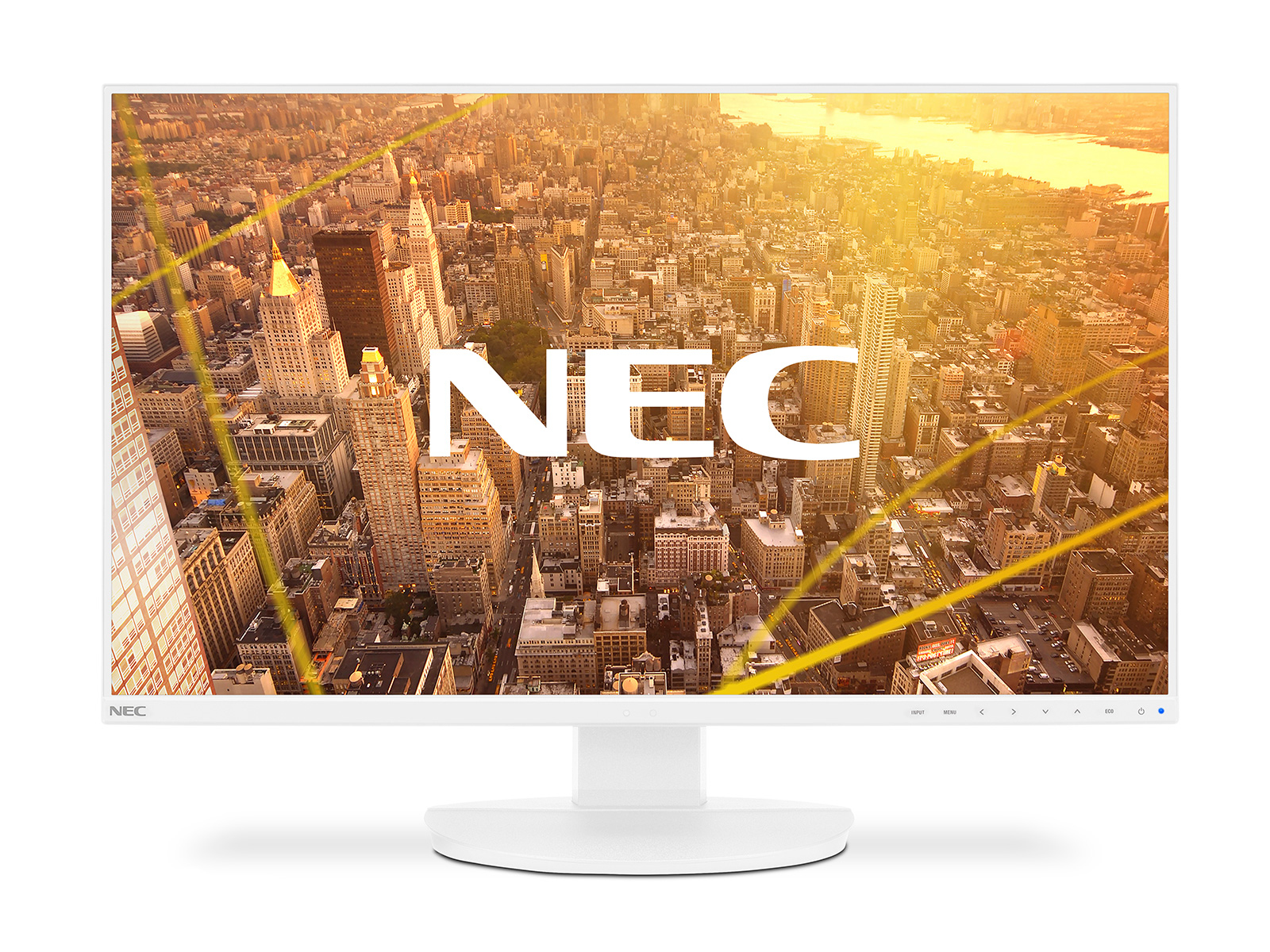 "NEC MultiSync EA271F LED display 68.6 cm (27"") 1920 x 1080 pixels Full HD Flat White"
