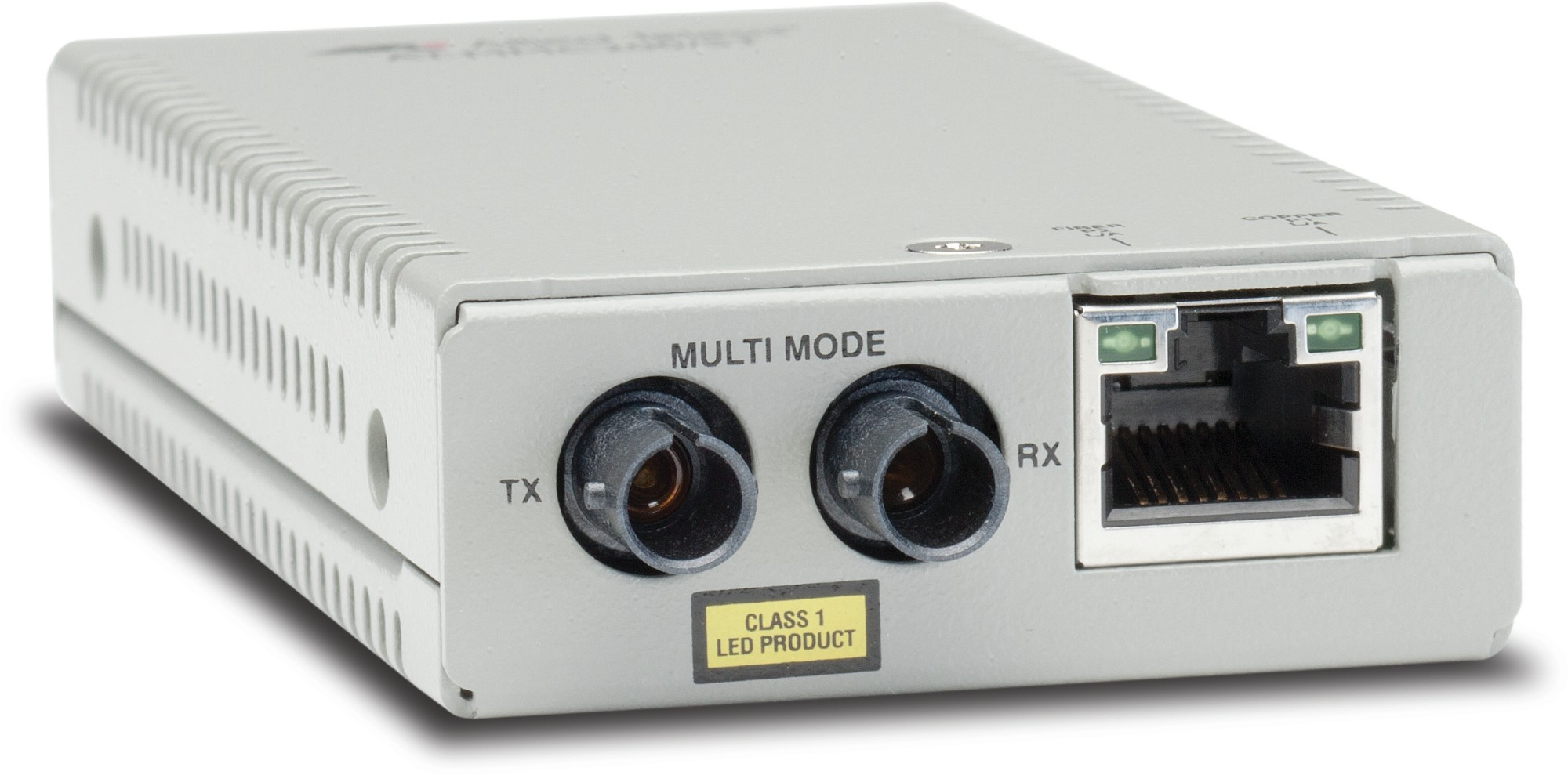 Allied Telesis AT-MMC200/ST-60 convertidor de medio 100 Mbit/s 1310 nm Multimodo Plata