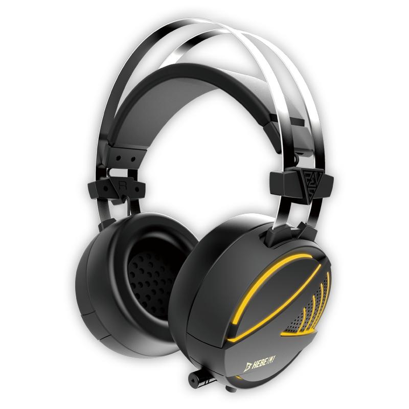 GAMDIAS Hebe M1 RGB Binaural Head-band Black headset