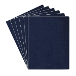 Fellowes 52113 Navy 200pcs binding cover