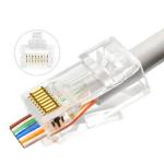 Lanview LVN125305 wire connector RJ45 Transparent