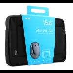 "Acer NP.ACC11.01X notebooktas 39,6 cm (15.6"") Aktetas Zwart"
