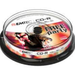 Emtec 52x, 10 pack CD-R 700MB 10pc(s)