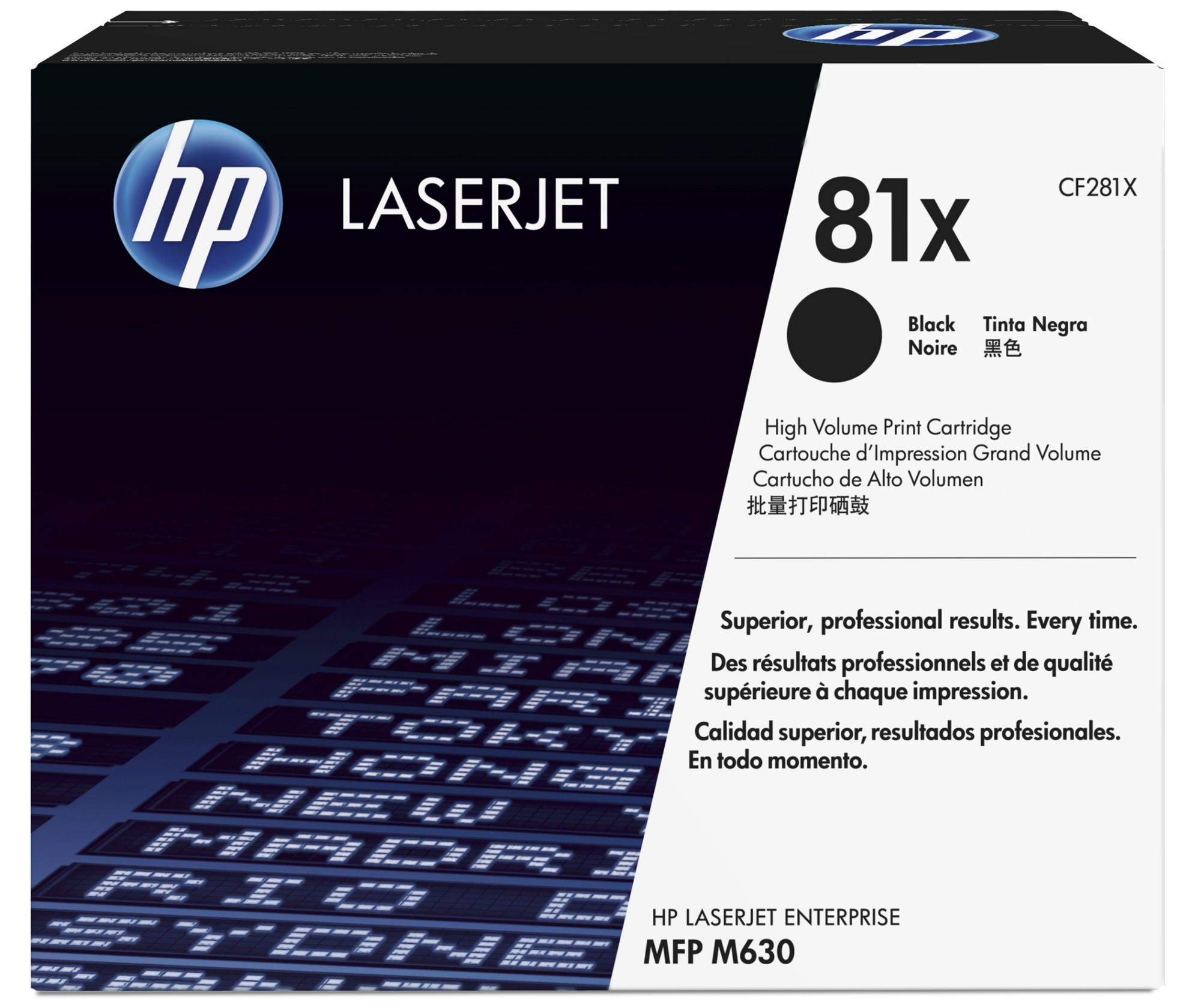 HP 81X Origineel Zwart 1 stuk(s)