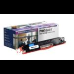 PrintMaster Cyan Toner Cartridge for HP Laserjet Pro Color CP1025, Pro 100 Color MFP M175 /-NW, Canon Laser Shot LBP-7010/7016/7018c