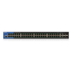 Linksys LGS552P Managed network switch L2/L3 Gigabit Ethernet (10/100/1000) Power over Ethernet (PoE) 1U Black network switch